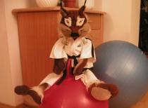 Tajky a jeho tréninky s balóny